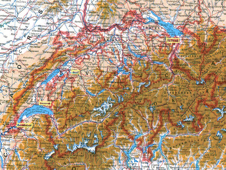 Genf - Mont Blanc híd