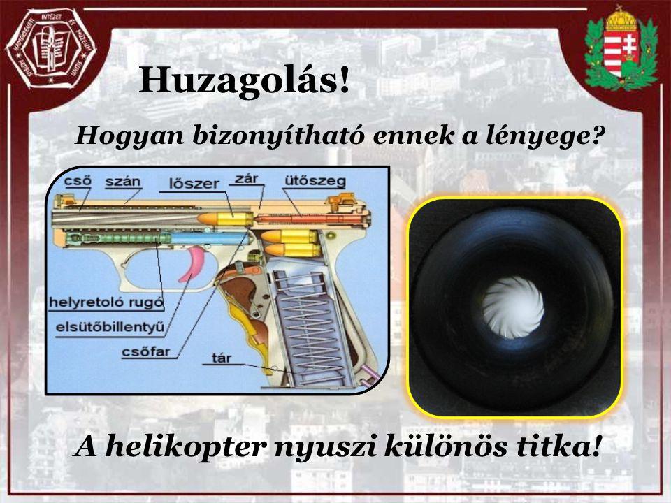 A helikopter nyuszi különös titka! Huzagolás! Hogyan bizonyítható ennek a lényege?