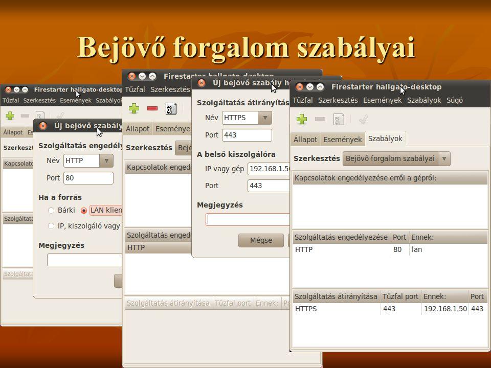 Bejövő forgalom szabályai Johanyák Zsolt Csaba (c) 2010256