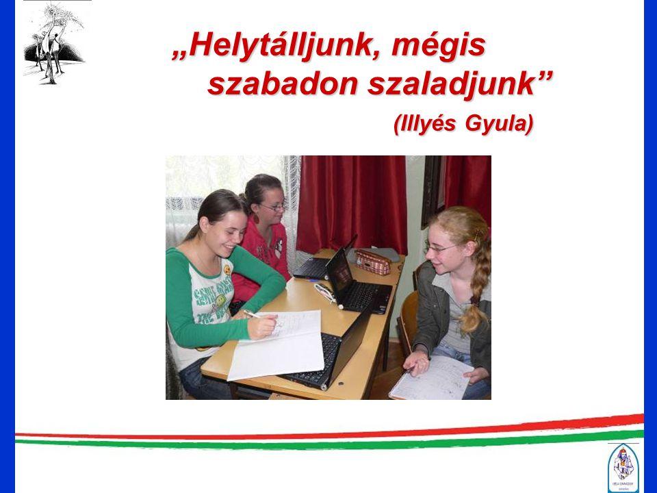 Mit kínál az I. Béla Gimnázium Tájékoztató nap 2010. november 20. Hajós Éva igazgató