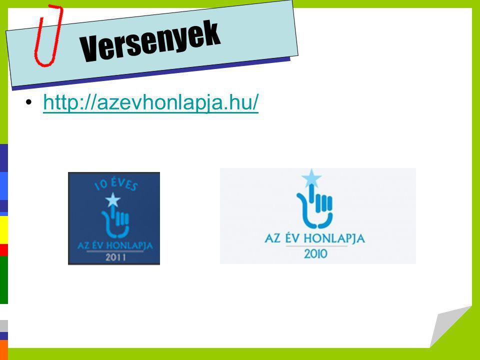 Versenyek •http://azevhonlapja.hu/http://azevhonlapja.hu/