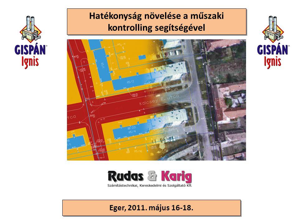 Eger, 2011. május 16-18. Hatékonyság növelése a műszaki kontrolling segítségével