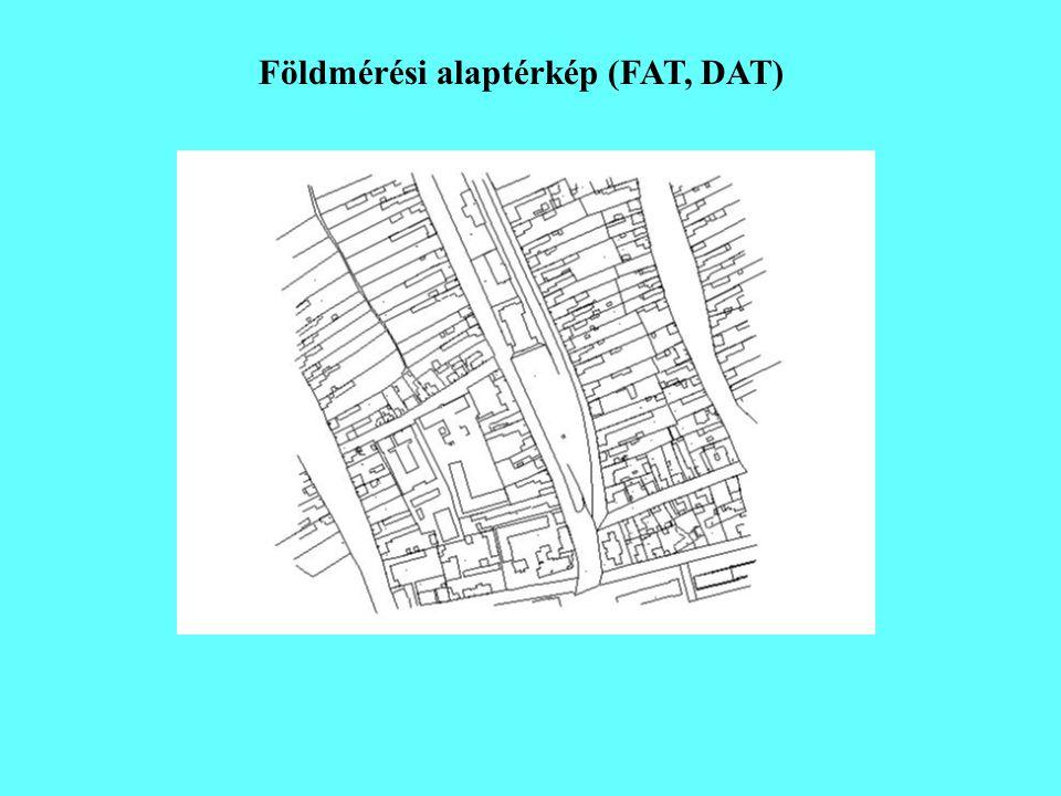 Földmérési alaptérkép (FAT, DAT)