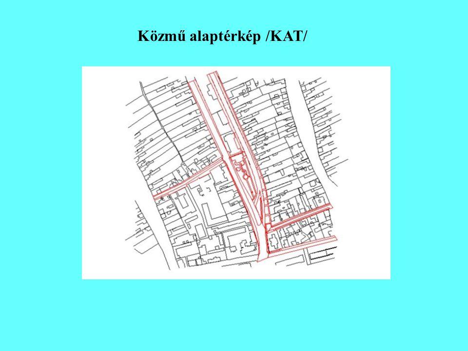 Közmű alaptérkép /KAT/