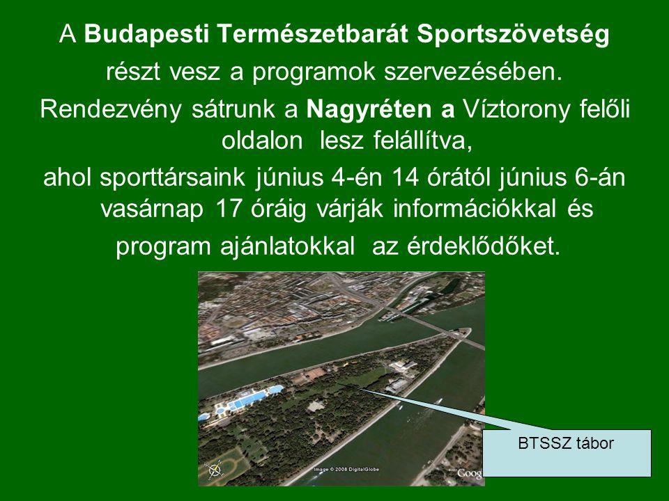 A SPORT LEGYEN A BARÁTOD! Budapest Főváros Önkormányzatának koordinálásában az idei évben hatodik alkalommal is megrendezésre kerül a több, mint 50 sp