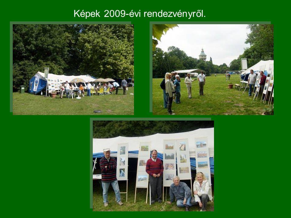 Képek 2009-évi rendezvényről.
