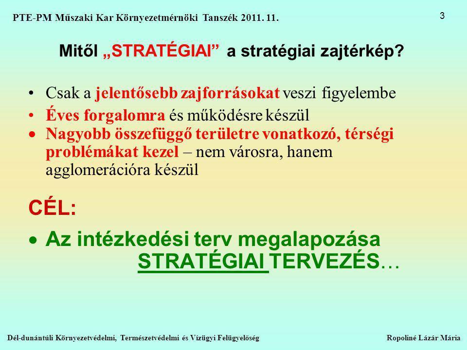 "Mitől ""STRATÉGIAI a stratégiai zajtérkép."