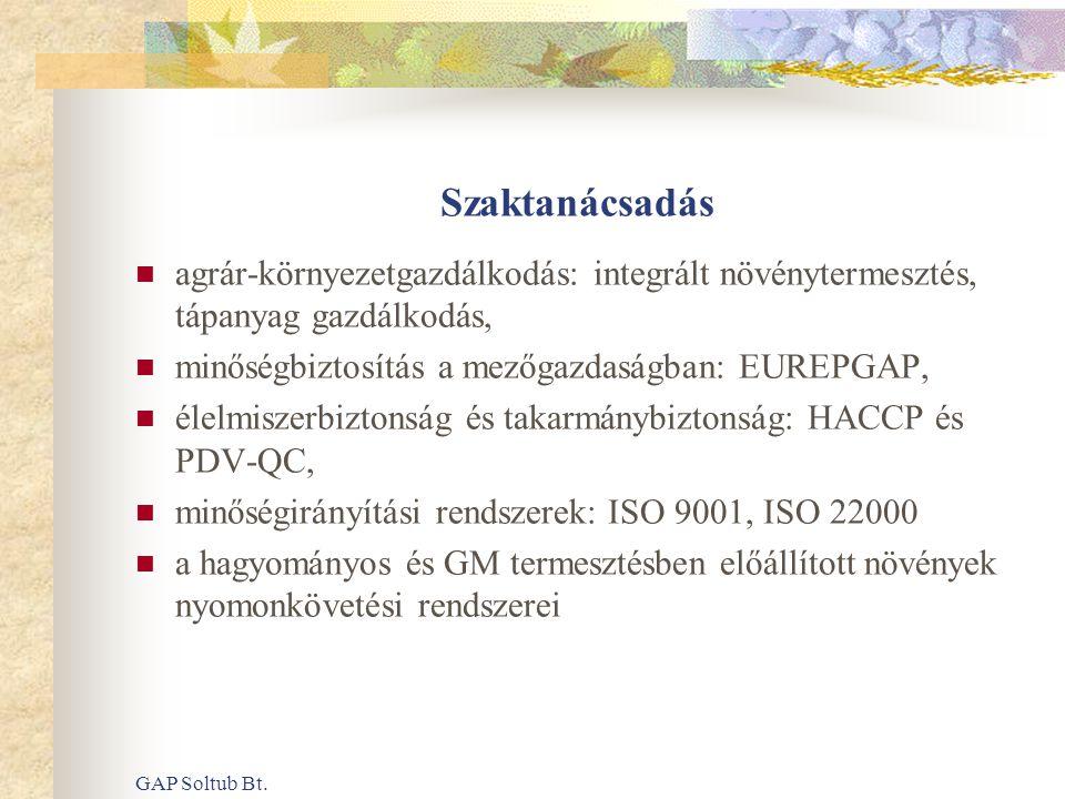 GAP Soltub Bt.ELŐZMÉNYEK (2)  2001.