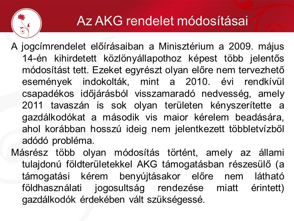 A jogcímrendelet előírásaiban a Minisztérium a 2009. május 14-én kihirdetett közlönyállapothoz képest több jelentős módosítást tett. Ezeket egyrészt o