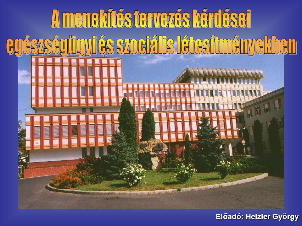 Előadó: Heizler György