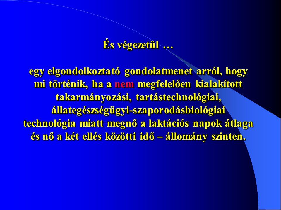 Információ: Dr Csáki Tamás Mobil: 06/30/3694035 Tel/Fax: 22/430-518 Email: drcsaki@mail.alba.hu Mi a teendő? A takarmányozástechnológia szükség szerin