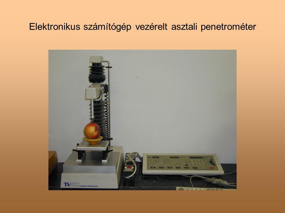 Elektronikus számítógép vezérelt asztali penetrométer