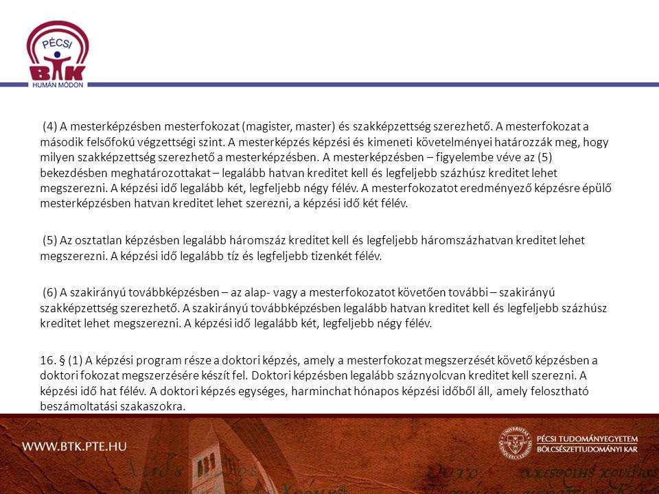 Munkaköri képesítési előírások 1/2000.(I.