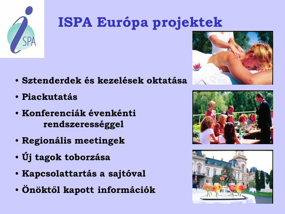 """Erősíteni kell a Spa ágazatot illető tudatot, tájékoztatni kell a nyilvánosságot, valamint az ágazat képviselőit az """"élethosszig tartó"""" """"Spa-tapasztal"""