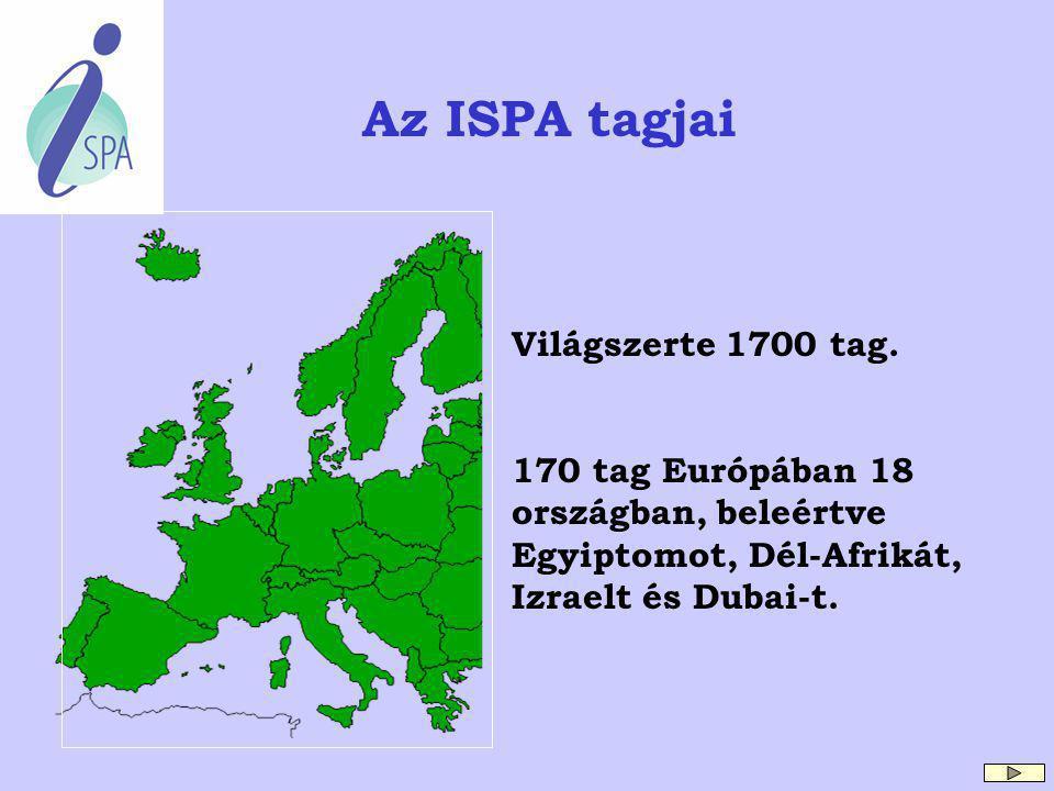 Az ISPA megalakulásától napjainkig A szövetség 1991 - ben alakult az Amerikai Egyesült Államokban 60 taggal. Az ISPA európai egysége 1997 - ben Banffb