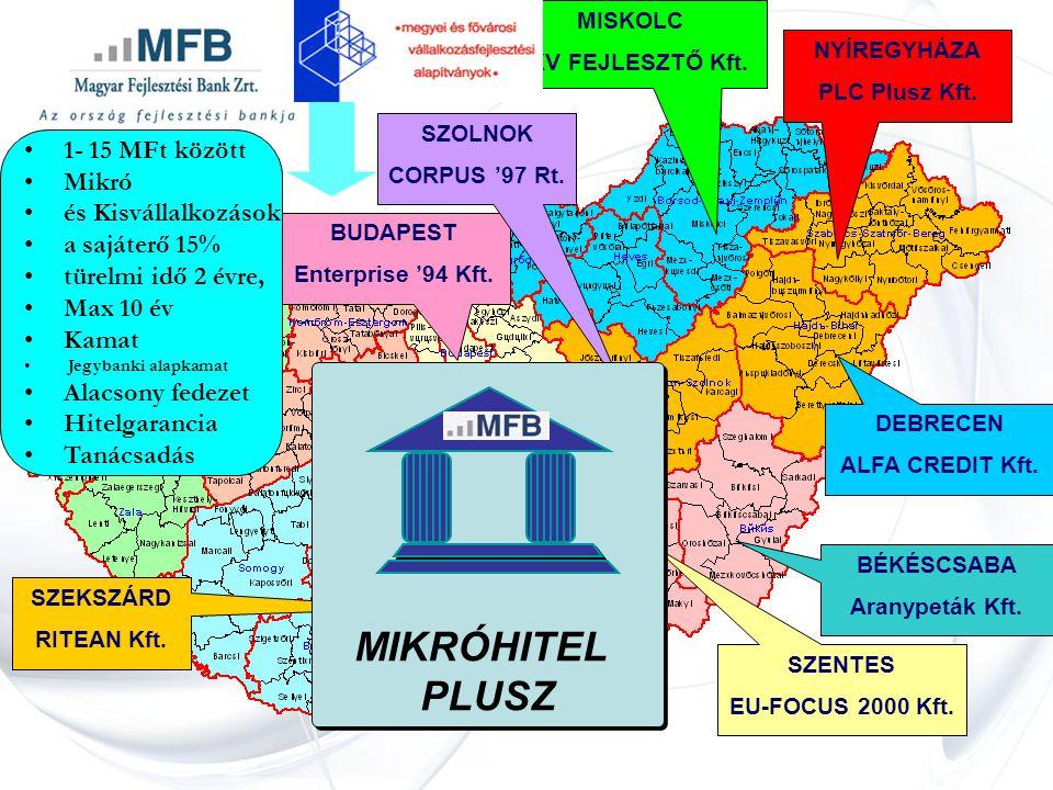 BUDAPEST Enterprise '94 Kft. NYÍREGYHÁZA PLC Plusz Kft.