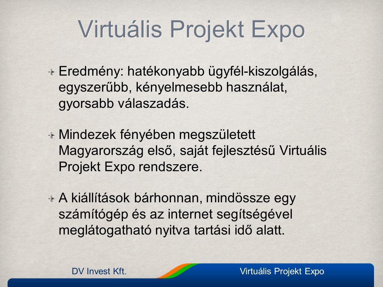 DV Invest Kft.Virtuális Projekt Expo Kávézó chat A látogatók szabadon chatelhetnek egymással A látogatók szabadon chatelhetnek egymással