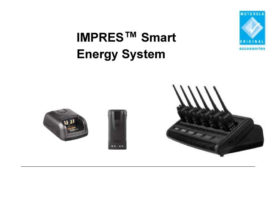 Az IMPRES™ és valamennyi nem-IMPRES akkumulátor töltéséhez Kondicionáló töltő Újra-kondicionáló töltő Motorola gyorstöltő