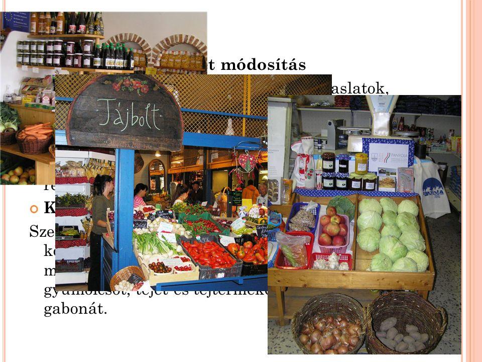 EREDMÉNYEK Kistermelői rendelet módosítás Az EU engedi: kodifikált szövegszerű javaslatok, véleményezések, egyeztetések. (Gazdabolt, helyi termék polc