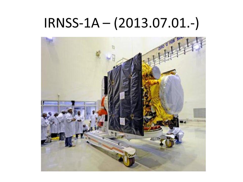 IRNSS-1A – (2013.07.01.-)