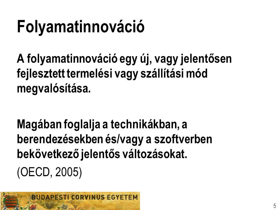 TECHNOLÓGIÁK CSOPORTOSÍTÁSA I.