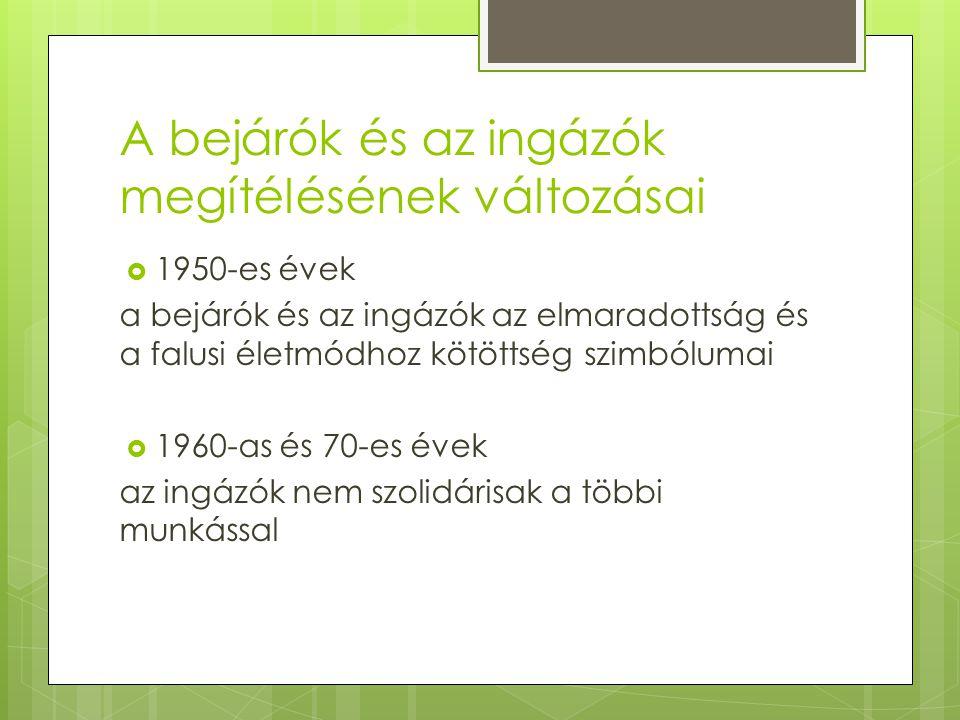 Fekete vonat  Nyíregyháza - Debrecen – Szolnok – Budapest Keleti Pályaudvar  Átlagos utazási idő: 3 – 6 óra  Esetenként 7 – 10 óra  A budapesti munkavállalás okai: 1.