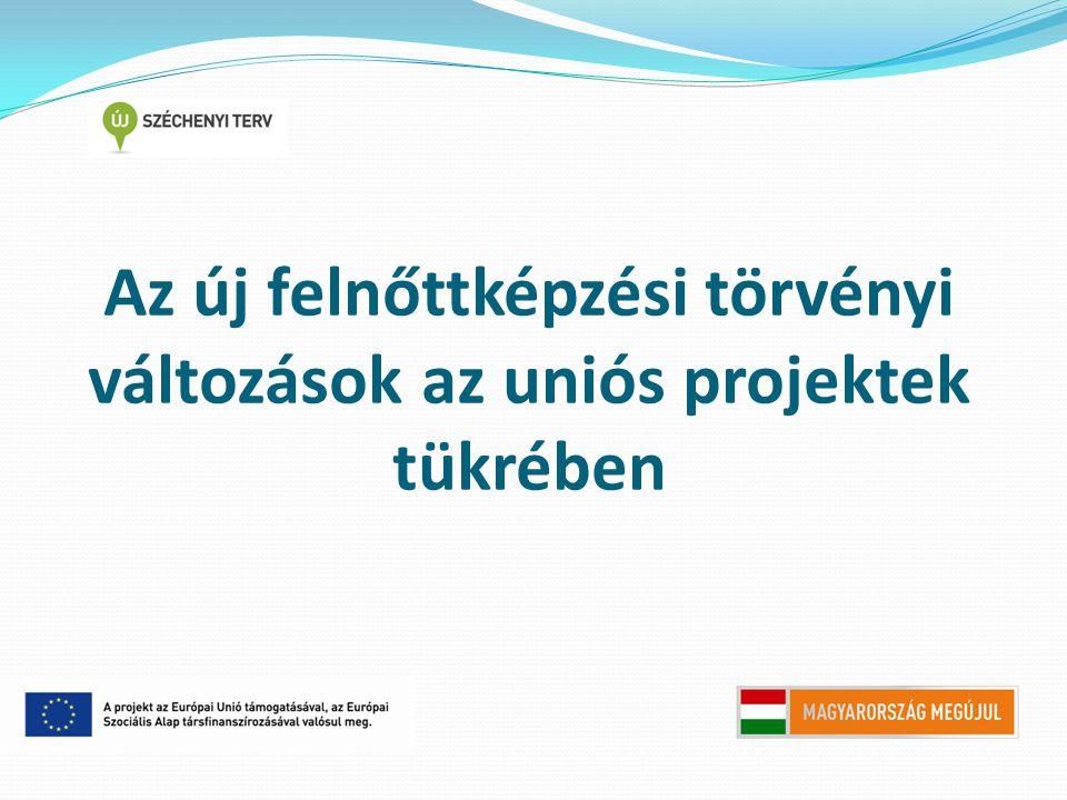 Új fogalmak  Képzési tevékenység: szervezetten megvalósuló, célirányos kompetenciakialakítás és kompetenciafejlesztés.