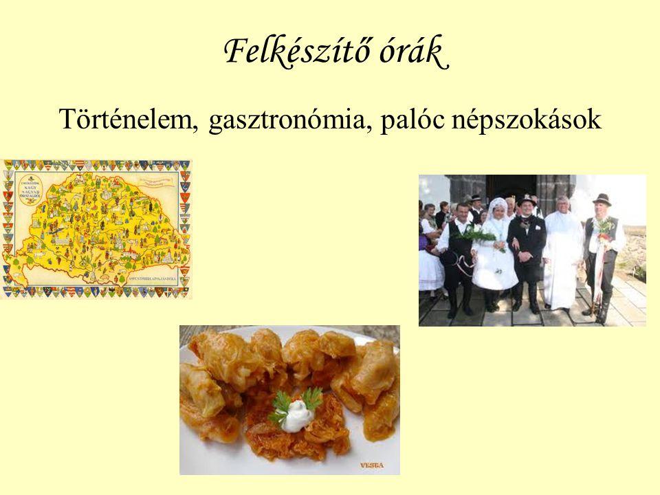 Palóc lakodalmas vacsora Vőfély rigmusok, A menü: töltött káposzta, hurka, kolbász és túrós rétes