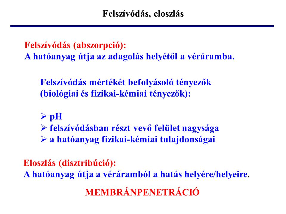 Membrán felépítése  ~ 34  ~ 40-50  ~ 20-25  ~ 2 vizes fázis  = 78