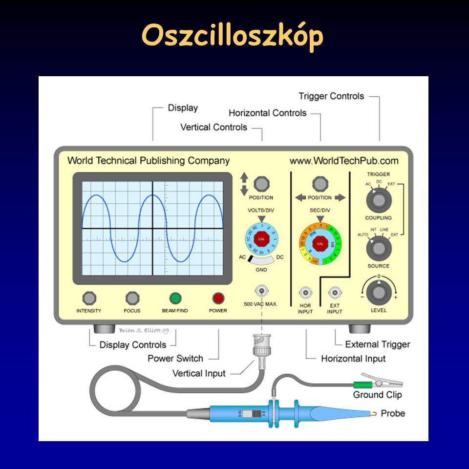 Oszcilloszkóp