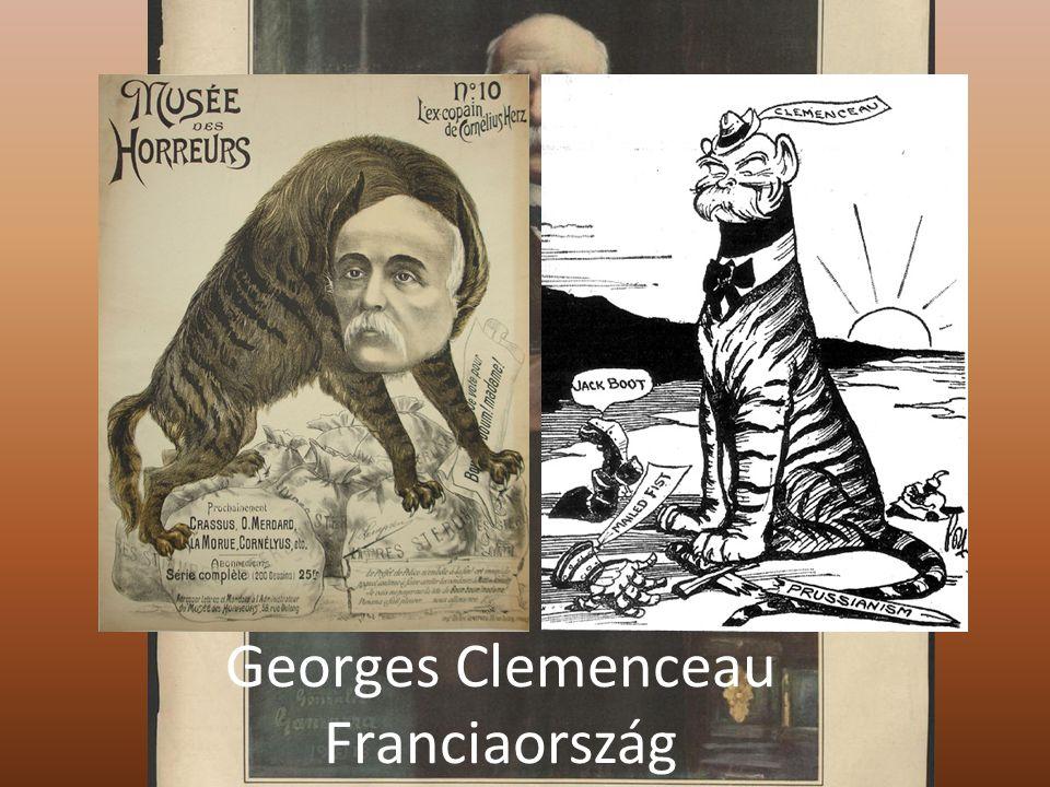 Georges Clemenceau Franciaország
