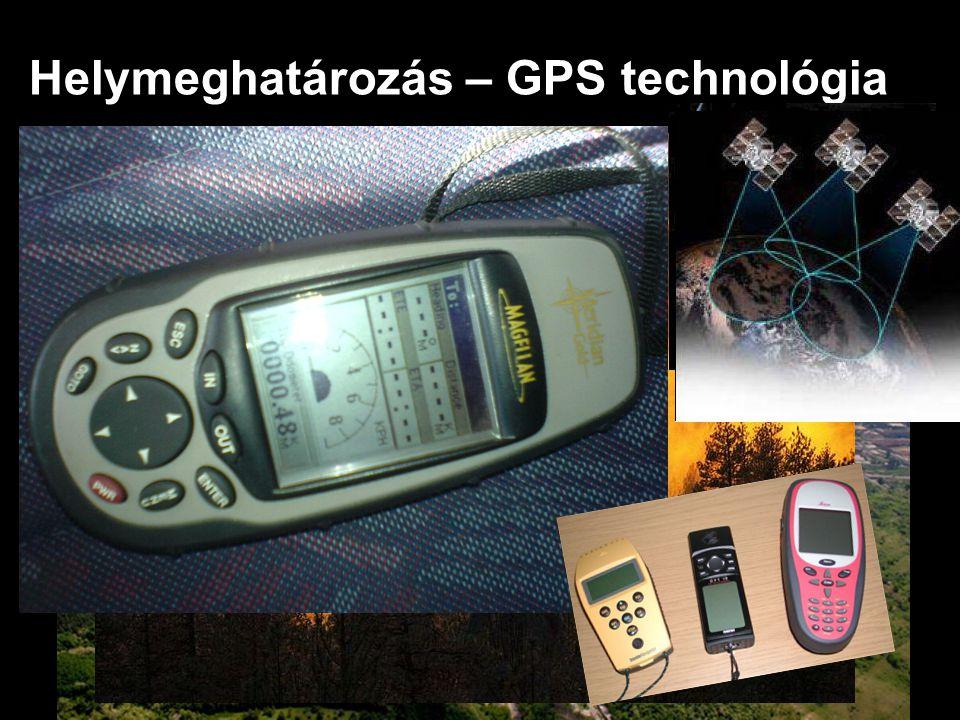 Helymeghatározás – GPS technológia