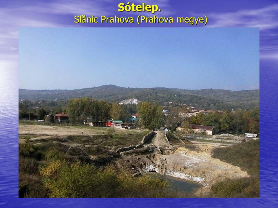Sótelep. Slănic Prahova (Prahova megye)