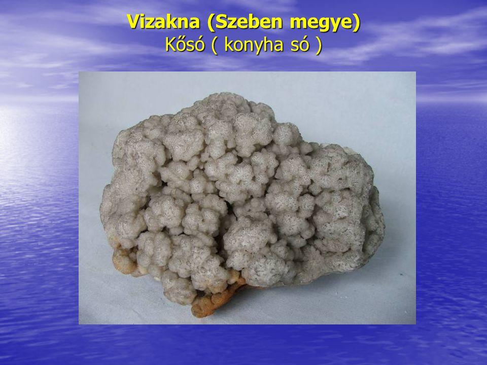 Vizakna (Szeben megye) Kősó ( konyha só )