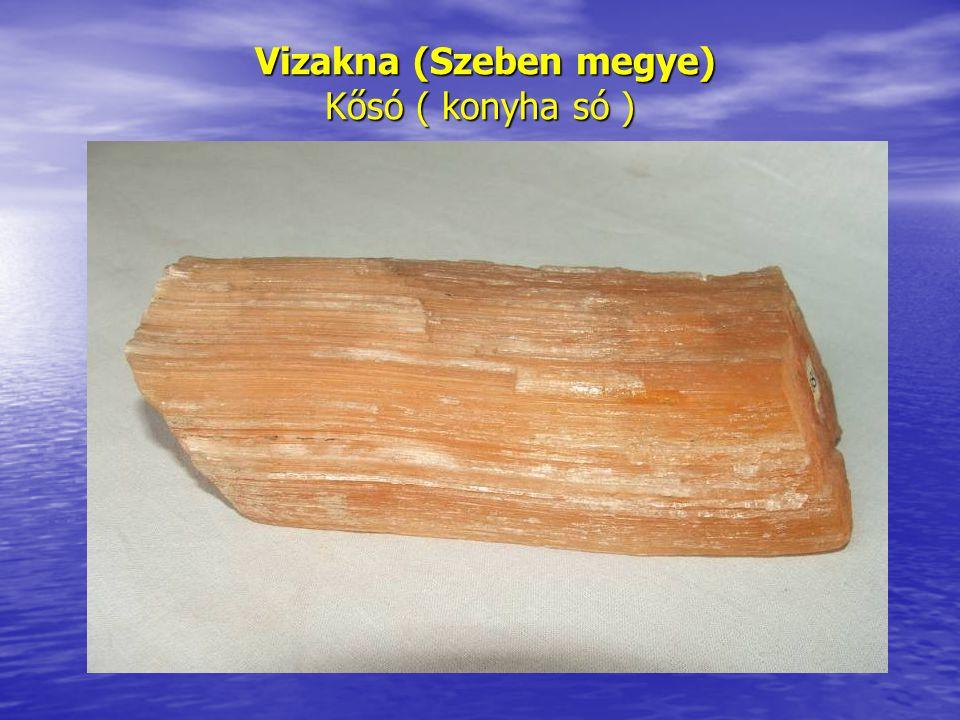 Kő kalapács rekonstruálása, melyet a sótömbök lefejtéséhez használtak Kitermelés.