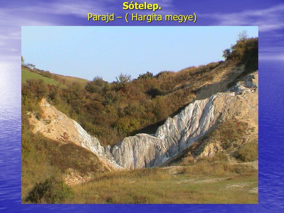 Rendbentartott sóskút. Korond (Hargita megye)