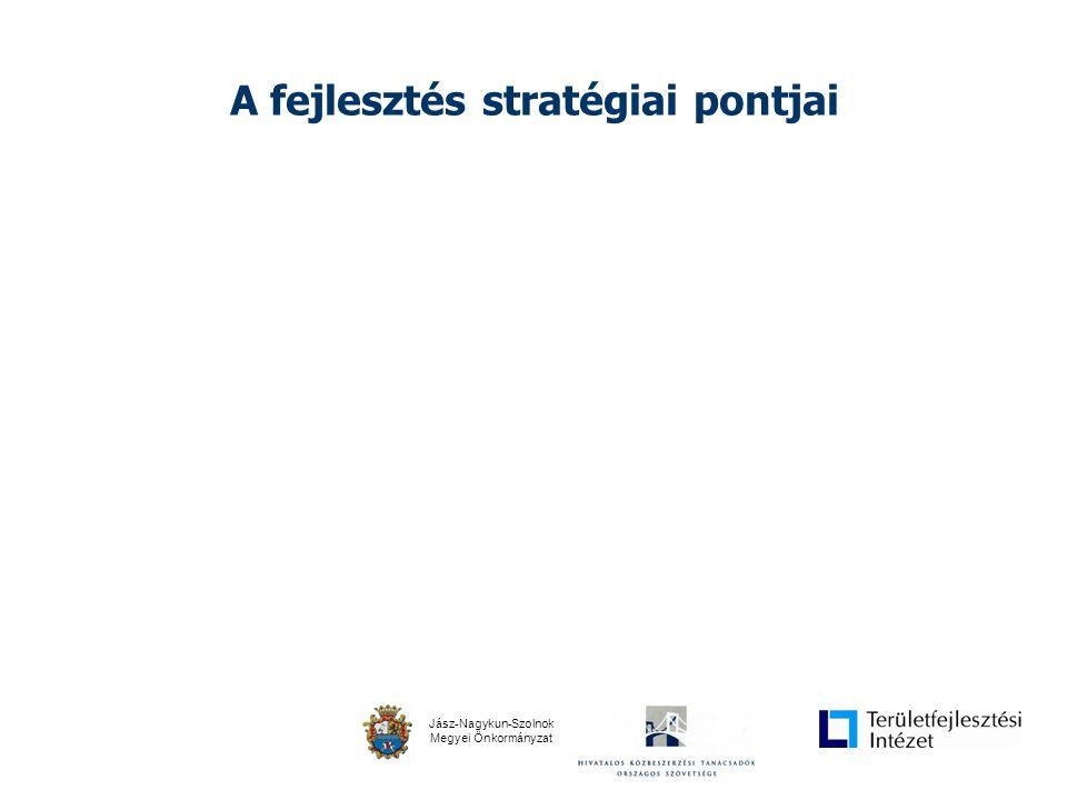 Jász-Nagykun-Szolnok Megyei Önkormányzat A fejlesztés stratégiai pontjai