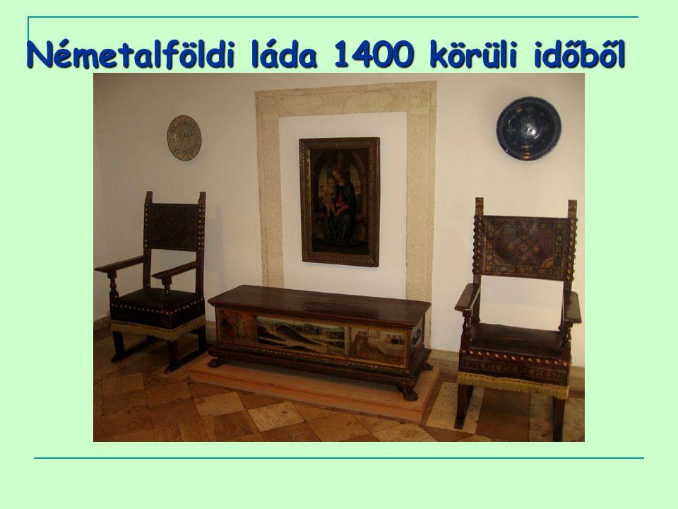Németalföldi láda 1400 körüli időből