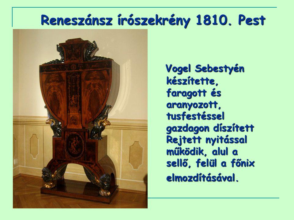 Reneszánsz írószekrény 1810.