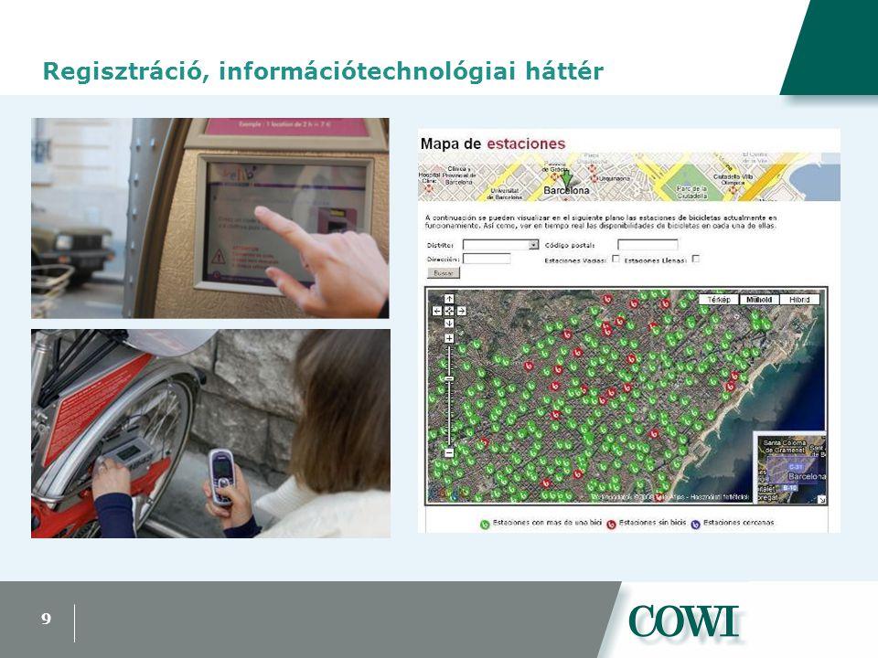 9 Regisztráció, információtechnológiai háttér