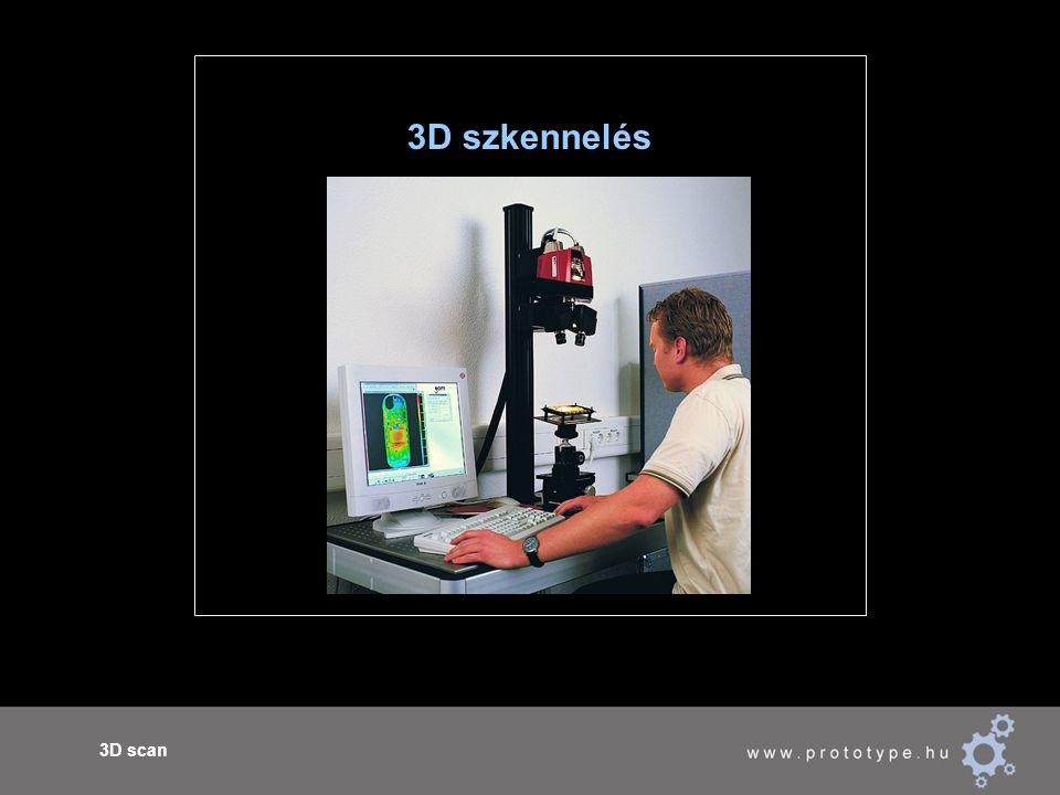3D scan 3D szkennelés
