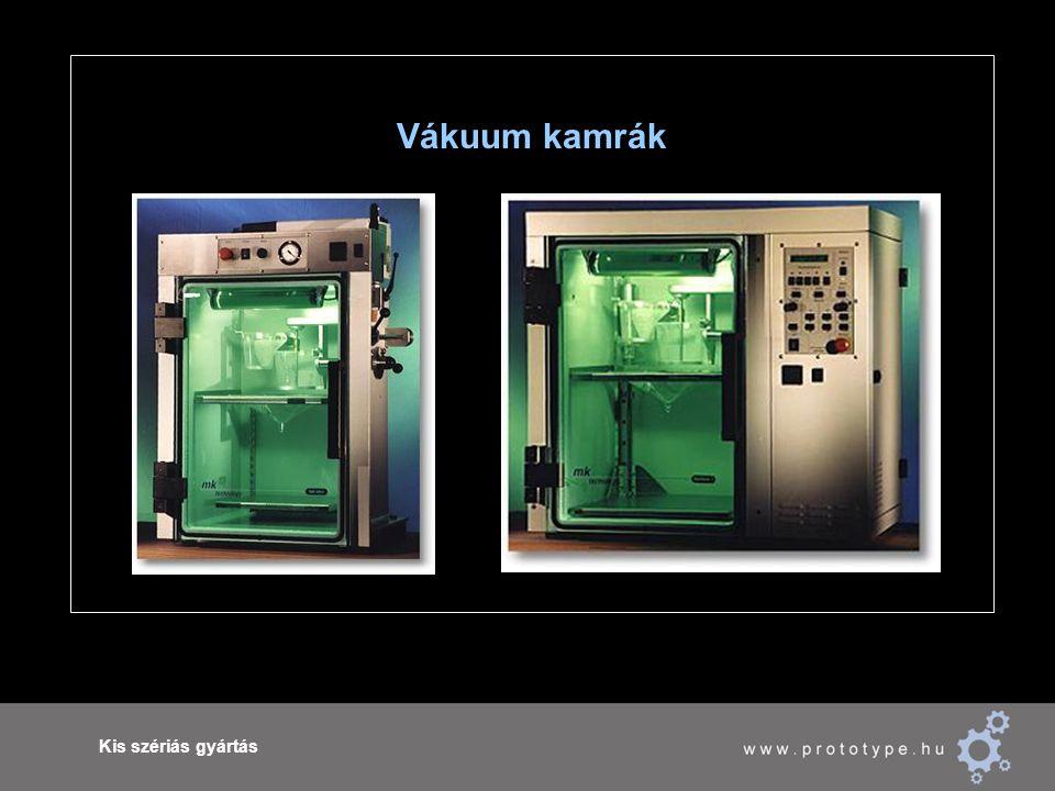 Kis szériás gyártás Vákuum kamrák