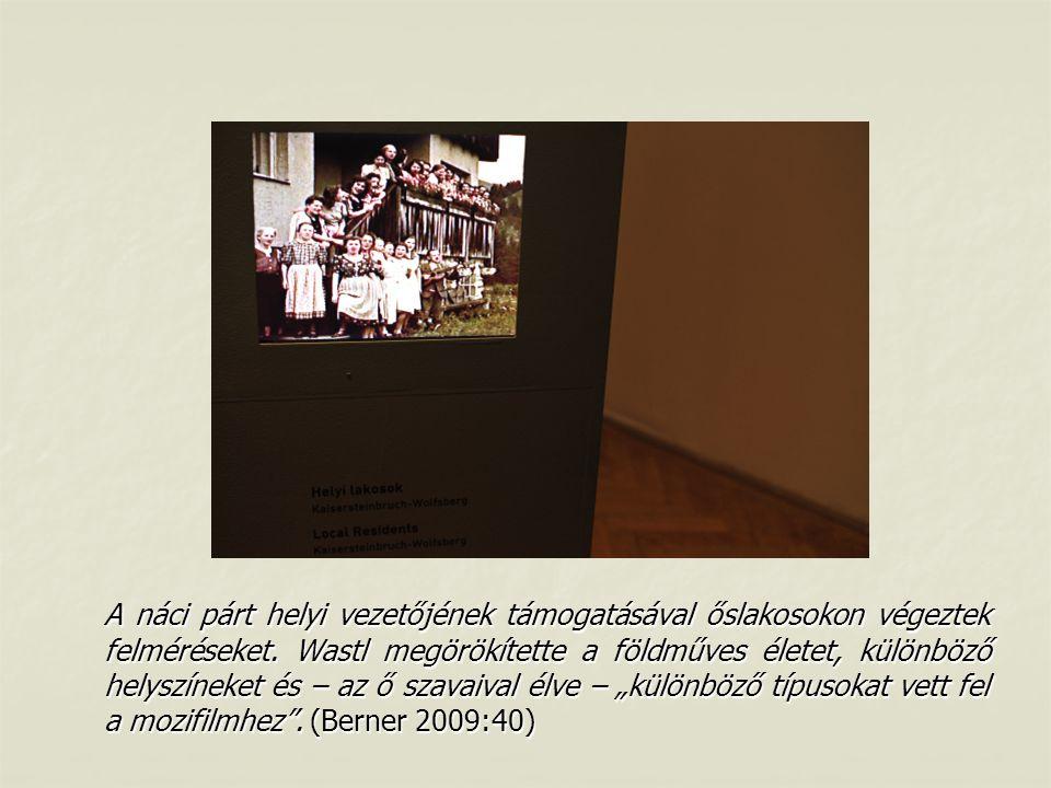 A náci párt helyi vezetőjének támogatásával őslakosokon végeztek felméréseket.