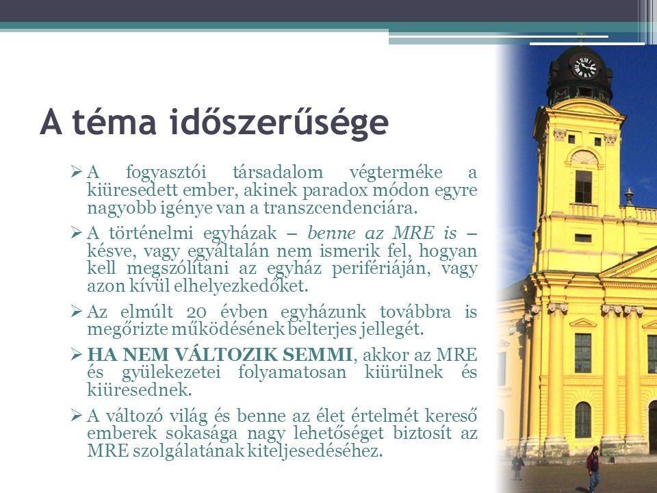 """A rendkívüli Zsinat és hatása az egyházi közéletre •""""A merre tovább MRE? kérdése hozta össze a zsinati képviselőket Balatonszárszóra 2011."""
