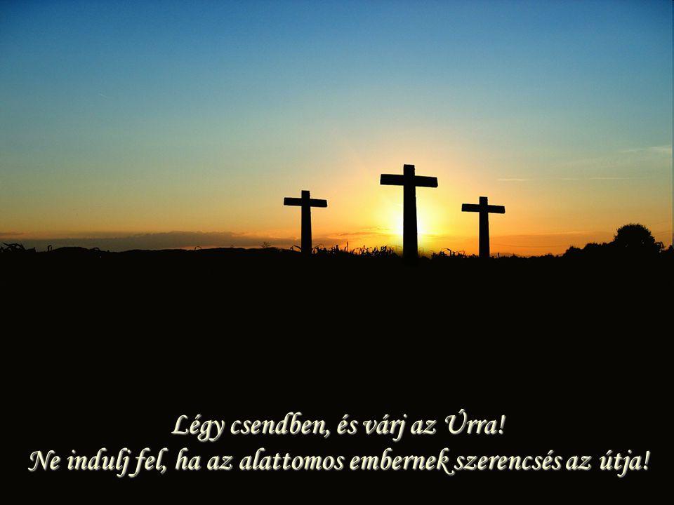Légy csendben, és várj az Úrra! Ne indulj fel, ha az alattomos embernek szerencsés az útja!