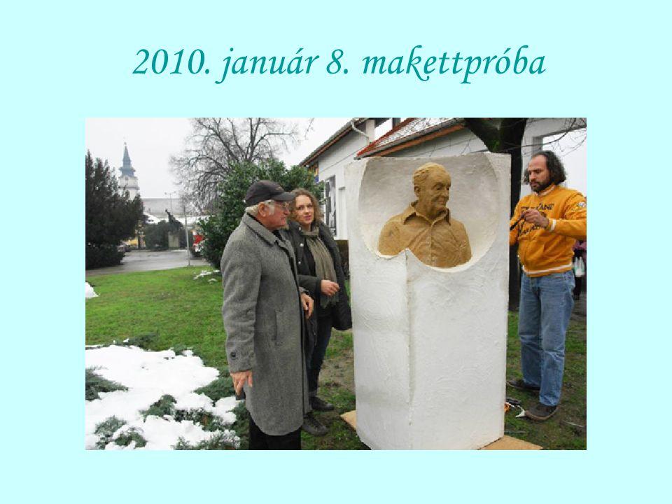 2010. január 8. makettpróba