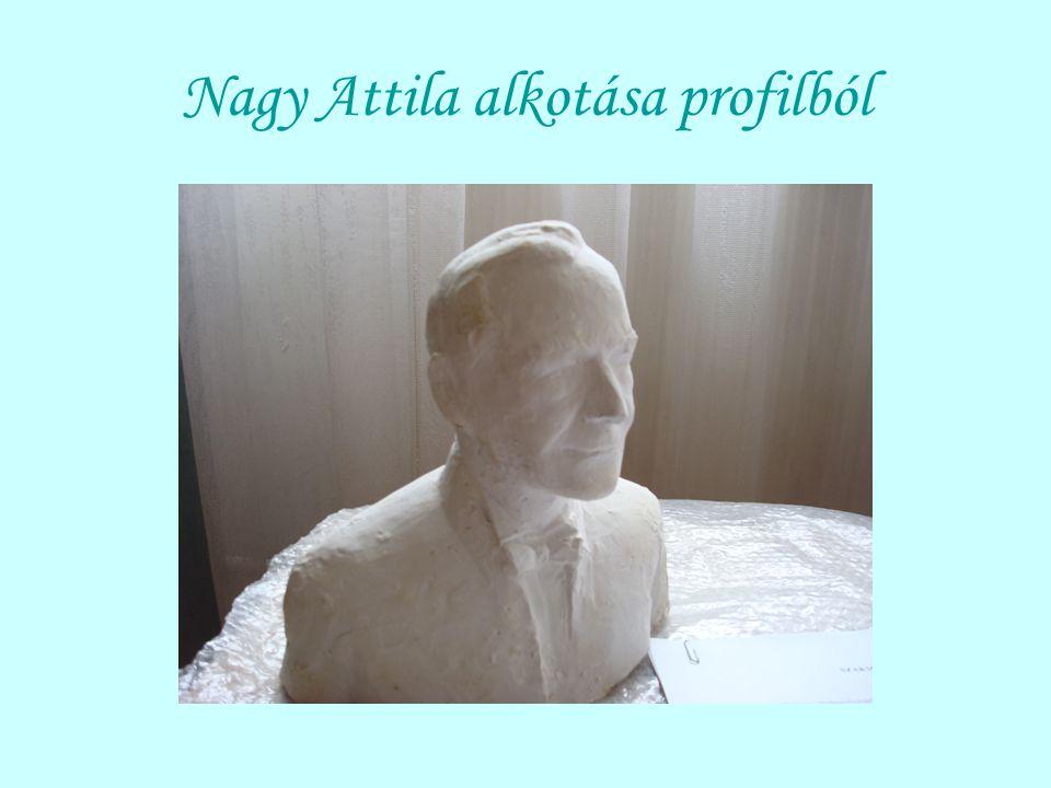Nagy Attila alkotása profilból