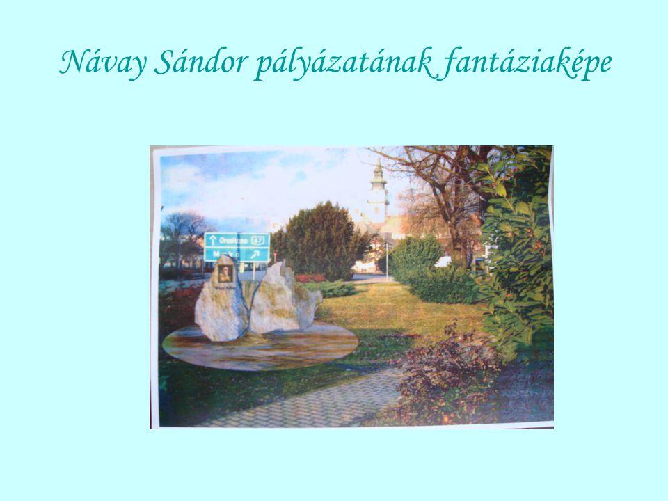 Návay Sándor pályázatának fantáziaképe
