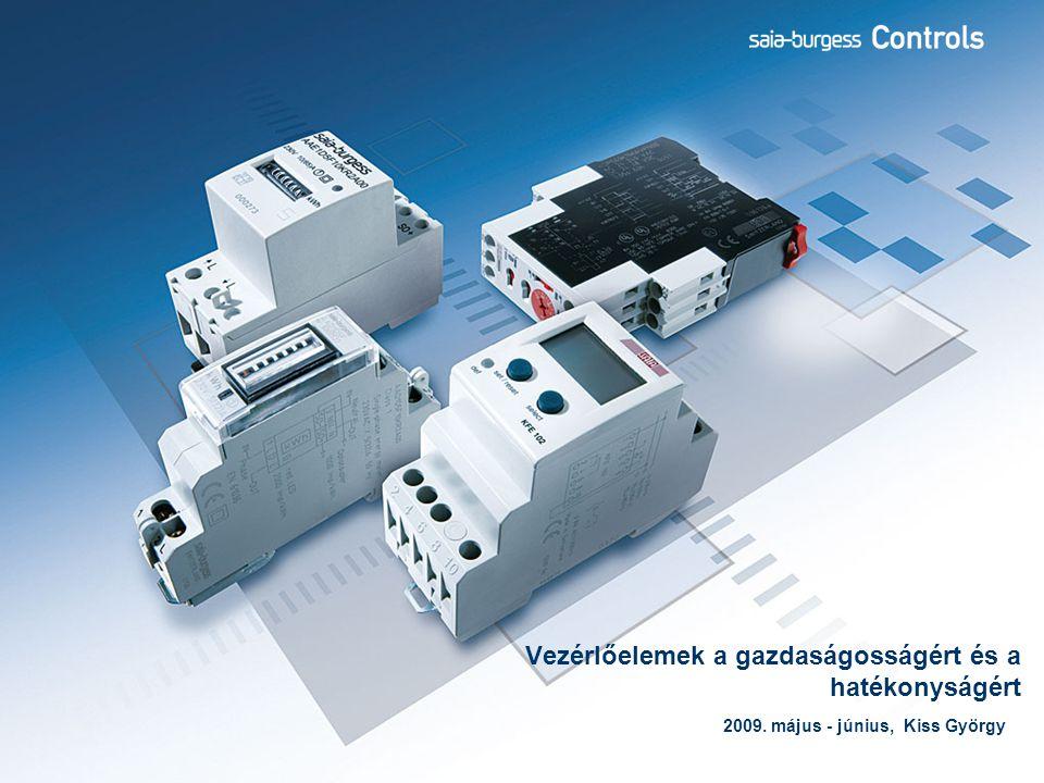 2 CC termékek Tartalom  Áttekintés a Saia vezérlőelemekről (számlálók, időrelék, védelmi relék, tápegységek)  Fogyasztásmérés és energiagazdálkodás Fő- és mellékmérők szerepe  Elektronikus villamos fogyasztásmérők, elektromechanikus-, és LCD kijelzéssel  Rendszerbe csatolás