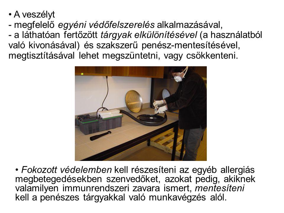 • Fokozott védelemben kell részesíteni az egyéb allergiás megbetegedésekben szenvedőket, azokat pedig, akiknek valamilyen immunrendszeri zavara ismert
